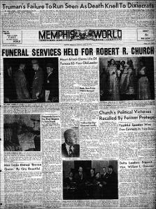 Memphis World, 1952 April 22nd