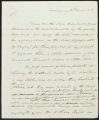 David Brydie Mitchell letter to John C. Calhoun, 1818