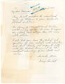 Letter from George Lambert in Huntsville, Alabama, to Governor Lurleen Wallace in Montgomery, Alabama.