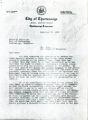 Joe W. Anderson correspondence with Board of Education. 1960 November 21