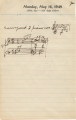 Florence Price Journal Entries from 1948 and 1949