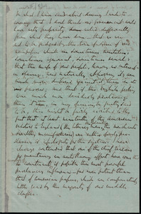 Partial letter from Richard Davis Webb, [Dublin, Ireland], to Anne Warren Weston, [25 August 1861]