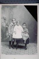 Three African American children