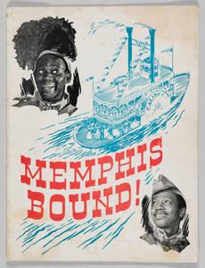 Souvenir program for Memphis Bound!