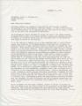 Thumbnail for John Crews to Chancellor Fortune, 11 December 1970