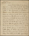 Affidavit respecting William Bowen letters to D. B. Mitchell, 1819