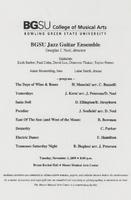 BGSU Jazz Guitar Ensemble
