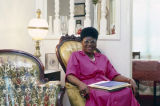 Bessie Pippens, new city council member, at her home on 14th Avenue in Bessemer, Alabama.