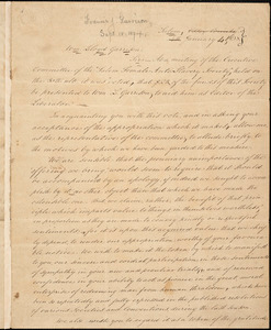 Letter from Salem Female Anti-slavery Society, Salem, [Massachusetts], to William Lloyd Garrison, 1838 January 4