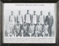 Frederick Douglass High School Basketball Team