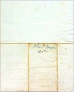 [Letter] 1850 Mar. 7 [to] James King / Thomas Moore: a machine readable transcription of an image