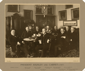 Thumbnail for McKinley and his Cabinet