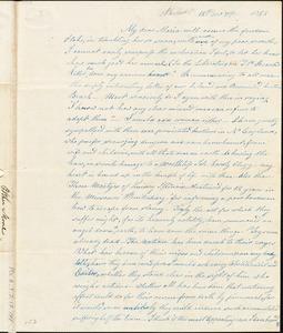 Letter from Esther Moore, Philadelphia, [Pennsylvania], to Maria Weston Chapman, 1844 [December] 7