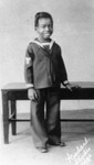 Allen 'Farina' Hoskins in sailor outfit