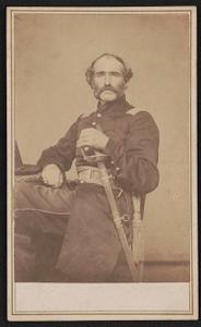 Lieut. John W. Ricker, lost leg at Port Hudson, May 27th, 1863 - 48th Reg. Mass.