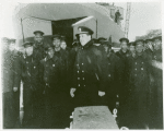 Thumbnail for U.S. Navy African American sailors lined up for the USS Mason's commissioning ceremony, Boston Navy Yard