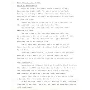 Court session, Nov. 4, 1976.