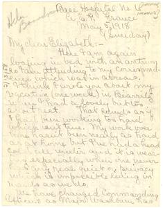 Letter from Helen Boardman to Elizabeth [fragment]