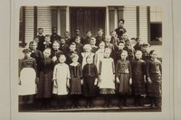 Group of young schoolchildren, Plainville or Southington