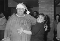 Christmas party at Lincoln Hospital
