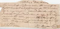 Bill of sale for slave of Thomas Stone, February 4, 1836