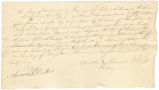 Bill of sale for a slave bought by Robert S. Gracey from Franklin Furman.