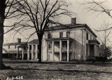 Residence and slave quarters of the Steele-Fowler house in Madison County, Alabama.