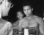 Ali weighs-in