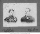 Unidentified man and woman, Seattle, Washington, ca. 1897