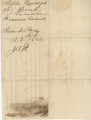 Marriage license - Randolph and Donnell