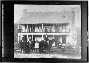 Elkhorn Tavern, Telegraph Road, Pea Ridge, Benton County, AR