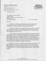 St. Mark United Primitive Baptist Church: correspondence requesting support for preservation funds