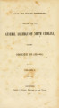 Executive documents, printed for the General Assembly of North Carolina, at the session of ...[1850;1851] N.C. public documents