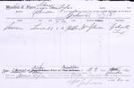 Manifest of slave on board the schooner [Alma Taylor] ... Susan, female, age 28