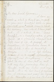 Letter to] My dear friend Garrison [manuscript