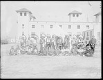 Dakota Rosebud tribe from Rosebud Reservation, South Dakota, U. S. Indian School, World's Fair, St Louis, Missouri 1904