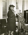 Mary McLeod Bethune at the Pyramid Club