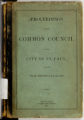 Proceedings of the Common Council of the City of St. Paul for the Year Ending January 15th, 1878