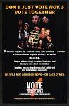 Don't Just Vote Nov 5