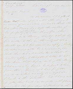 Letter from Henry Wigham, Edinburgh, [Scotland], to William Lloyd Garrison, 1850 [July] 16