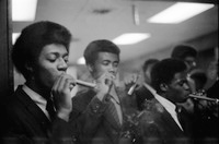 Alpha Phi Alpha Members Smoking Cigars