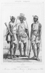 Peuples de la Senegambie 1. Mandingue du Wolli, 2. Bambara, 3. Yoloff du pays de Wallo
