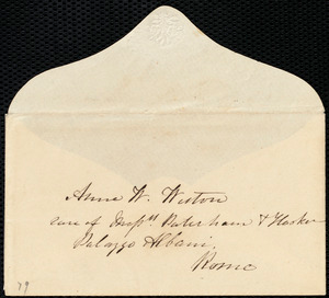 Letter from Eliza Wigham, 5 Gray Street, Edinburgh, [Scotland], to Anne Warren Weston, 26-01-1857