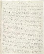 Incomplete letter to] Dear Caroline & Deborah [manuscript