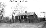 105 N. 2nd Street Missouri, Columbia. Black Community Photographs, c. 1958-1963 C3902