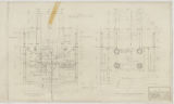 Catherine Welsch-Smith Memorial Building, City of St. Paul, Ground Floor Plan and Plan of Concrete Platform
