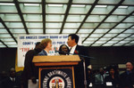County Librarian with Smokey Robinson
