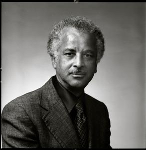 Studio portrait of Edwin D. Driver