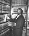 Aaron Taylor in the Tennessee Supreme Court Library, Nashville, Tennessee.