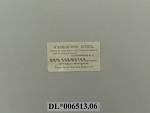 Washington Hotel Trade Card
